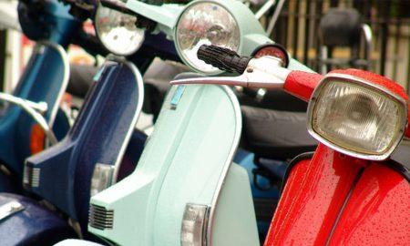 Kipa scooters vier